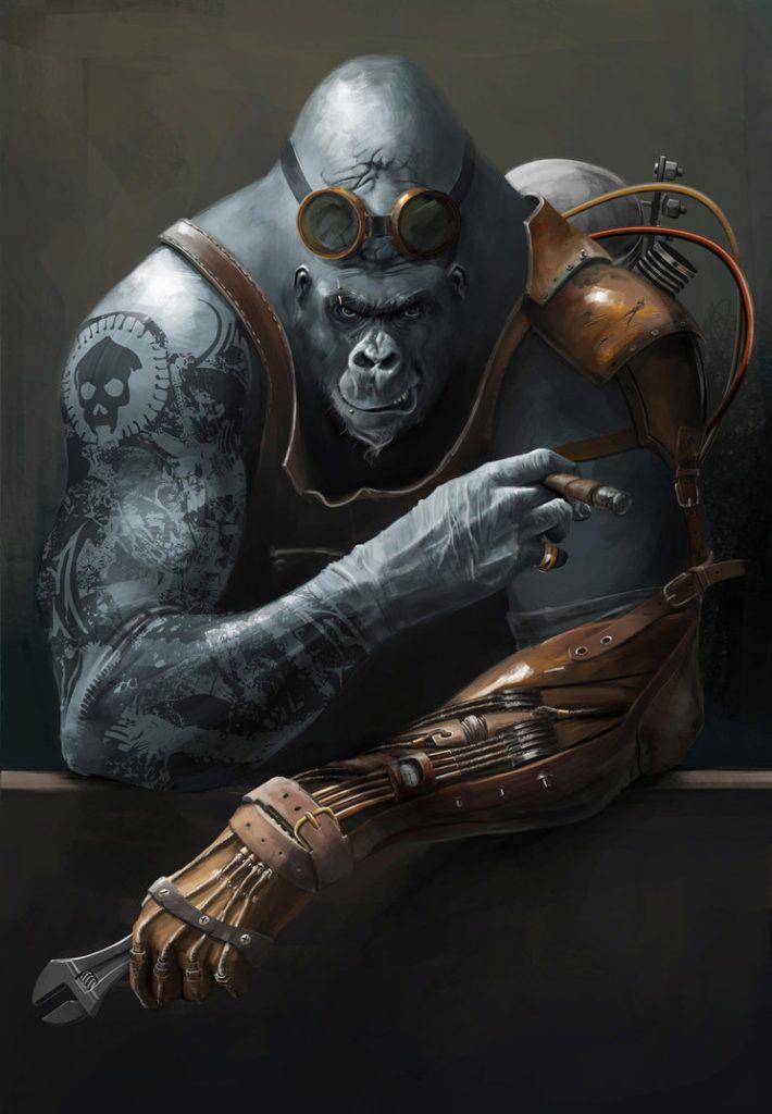 space-gorilla